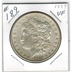1889 US *MORGAN* SILVER DOLLAR