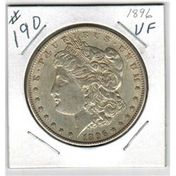 1896 US *MORGAN* SILVER DOLLAR