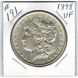 1898 US *MORGAN* SILVER DOLLAR