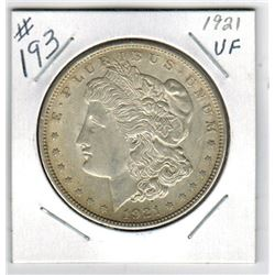 1921 US *MORGAN* SILVER DOLLAR