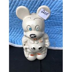 USA MICKEY MOUSE COOKIE JAR (MINNIE ON REVERSE) *MCCOY POTTERIES CALIF.*