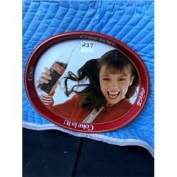COCA COLA SERVING TRAY (LARGE, OVAL)