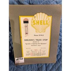 SHELL ADVERTISING CLALENDAR (1964, *INCOMPLETE DATE PAD*)
