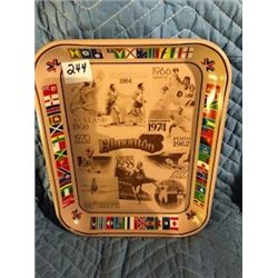 COCA COLA COMMEMORATIVE OLYMPIC SERVING TRAY