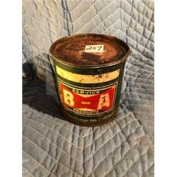 B/A BOW TIE GREASE TIN