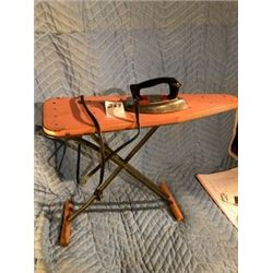 EAGLE TOY IRON *ELEC* (W/IRONING BOARD, MADE IN CANADA)