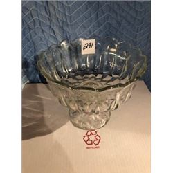 FOOTED FRUIT BOWL (CRYSTAL)