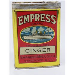 EMPRESS GINGER TINS