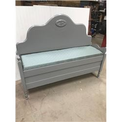 "BENCH (W/PADDED LIFT SEAT) *57""WX18""DX44""H*"