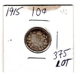 1915 *SILVER* 10 CENTS