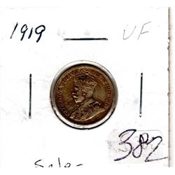 1919 10 CENTS *GEORGE V*