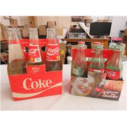 12 COCA-COLA POP BOTTLES