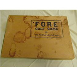 BOARD GAME (EARLES GOLF)
