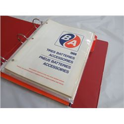 BINDER OF BA & GULF SERVICE MANUALS