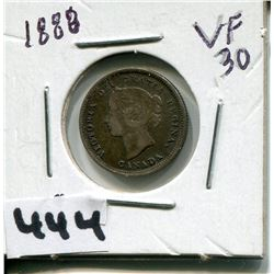 1888 CNDN SMALL 5 CENT PC