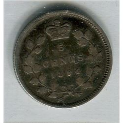 1894 CNDN SMALL 5 CENT PC (ICCS)