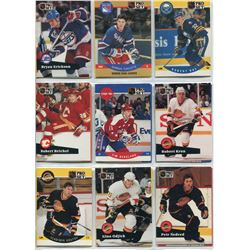 FIRST YEAR/ROOKIE HOCKEY CARDS, (DARREN TURCOTTE, PETER ING, ETC)