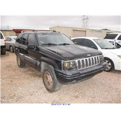 1996 - JEEP GRAND CHEROKEE//RESTORED SALVAGE