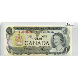 1973 BANK OF CANADA (ONE  DOLLAR NOTE) *UNC*