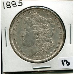 1885 U.S. SILVER DOLLAR *MORGAN*