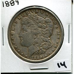 1889 U.S. SILVER DOLLAR *MORGAN*