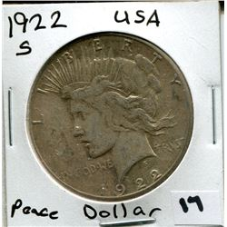 1922 S U.S. SILVER DOLLAR *MORGAN*