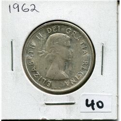 1962 CANADIAN 50 CENT COIN