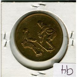 1972 CANADA VS USSR *GOLD PLATED COIN*