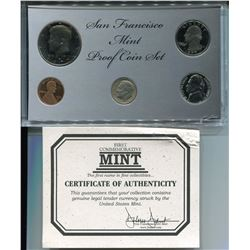 1969-1977 PROOF COIN SET (SAN FRANSISCO MINT)