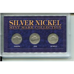 1943 U.S.A. SILVER NICKEL MINT COLLECTION