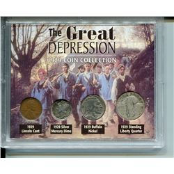 1929 U.S.A. COIN COLLECTIONS *THE GREAT DEPRESSION*