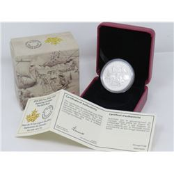 $15 FINE *SILVER* CANADIAN COIN (THE GOLD RUSH)