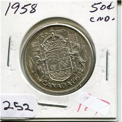 1963 CNDN 50 CENT PC *SILVER*