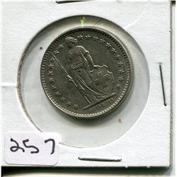 1968 TWO FRANC PS (SWITZERLAND)