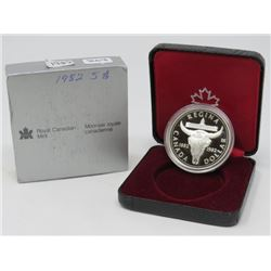1982 SILVER DOLLAR PROOF (ROYAL CANADIAN MINT SILVER)