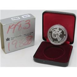 1983 SILVER DOLLAR PROOF (ROYAL CANADIAN MINT SILVER)