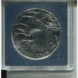1996 SILVER DOLLAR PROOF (ROYAL CANADIAN MINT SILVER)