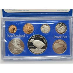 1982 PROOF SET (NEW ZEALAND TREASURY)