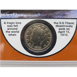 1912 'TITANIC SS' MINT COIN SET