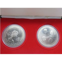 1977 SILVER MINT SET (CANADIAN GOVERNOR GENERAL)
