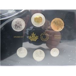 2014 ROYAL CANADIAN MINT *SPECIMENT SET*