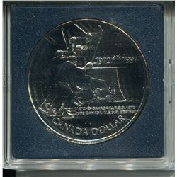 1973 SILVER DOLLAR (TEAM CANADA HOCKEY)