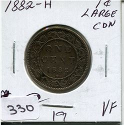 1882 CNDN LARGE PENNY