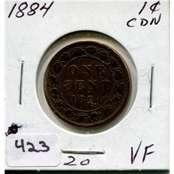 1884 CNDN LARGE PENNY