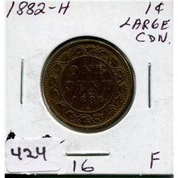 1882 H CNDN LARGE PENNY