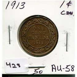 1913 CNDN LARGE PENNY