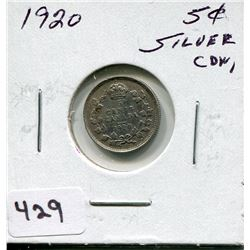 1920 CNDN SILVER SMALL NICKEL