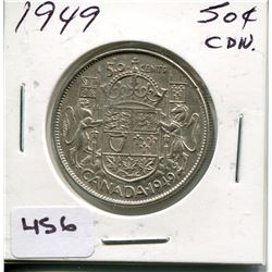 1949 CNDN SILVER 50 CENT PC