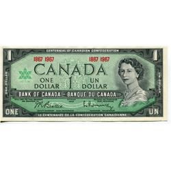 1967 CNDN $1 BANK NOTES (CENTENNIAL) *UNCIRCULATED*
