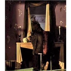 BEETLEJUICE LYDIA'S VANITY DESK WITH MIRROR SCREEN MATCHED AS SHE WRITES HER SUICIDE NOTE